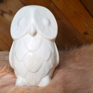 St. Jude West Elm Ceramic Owl White
